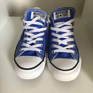 Blue Converse All Star Sneakers
